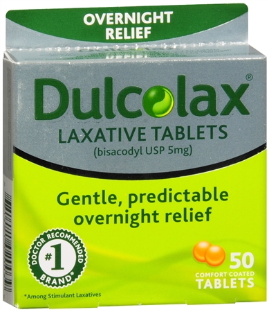Dulcolax Tablets 50 Tablets [681421020039]