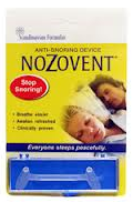 Nozovent Anti-Snoring Device For Peaceful Sleep 1 ea [851137000407]