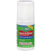 Curad Quick Stop Blood Clotting Powder Spray 1.69 oz [888277365981]