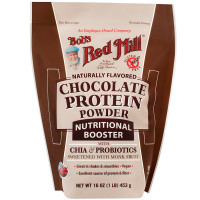 Bob's Protein Red Mill Chocolate Protein Powder Nutritional Booster 16 oz [039978003478]