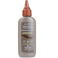 Clairol Professional Beautiful Collection Advanced Gray Solution Semi-Permanent Hair Color, Toasted Hazelnut [6N] 3 oz [381515000595]