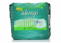 Always Ultra Thin Pads Long Super Flexi-Wings 16 Each [037000306573]