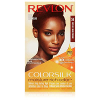 Revlon ColorSilk Moisture-Rich Hair Color, [56] Deep Red 1 Application [309970999353]