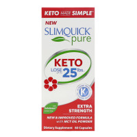 SLIMQUICK Pure Extra Strength Weight Loss For Women Caplets 60 ea [811568004252]