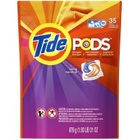 Tide Pods Laundry Detergent, Spring Meadow 35 ea [037000509639]