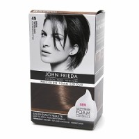 John Frieda Precision Foam Colour Brilliant Brunette (Dark Natural Brown) 4N 1 Each [717226162046]