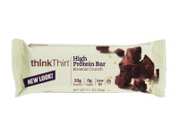 Think Thin High Protein Bar, 2.1 oz bars, Brownie Crunch 10 bars [753656701271]