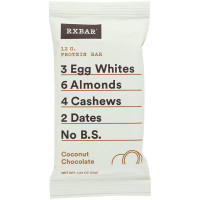 RXBar Protein Bar, 1.83 oz bars,  Coconut Chocolate 12 ea [857777004218]