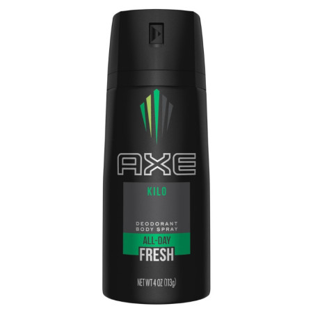 Axe Kilo Daily Fragrance 4 oz [079400551405]