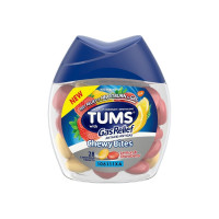 TUMS Chewy Bites with Gas Relief, Lemon & Strawberry, 28 ea [307667388596]