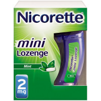 Nicorette Stop Smoking Aid  2 mg Mini Lozenges, Mint  20 ea [307667880571]