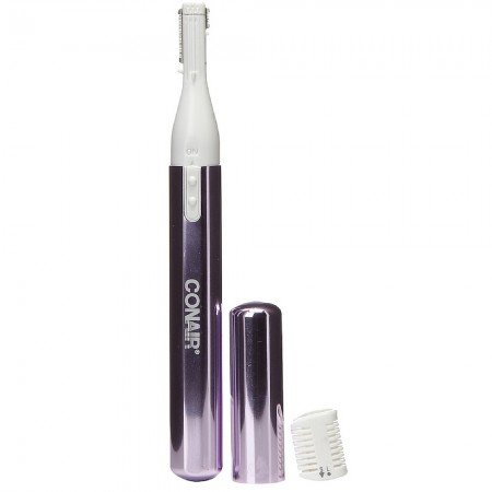 Conair  Ladies 2-in-1 Fine Line Personal Trimmer, Battery Operated [LT3WB] 1 ea [074108033321]