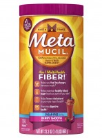 Metamucil Smooth Texture Berry Burst Sugar-Free 114 Each [037000119616]