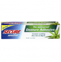 Secure Sensitive Denture Adhesive, 1.4 oz [364031300202]