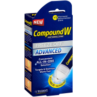 Compound W Advanced Freeze Off Wart Removal System 15 ea [075137108257]