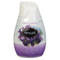 Renuzit Simply Refreshed Collection Gel Air Freshener, Fresh Lavender 7 oz [023400350018]