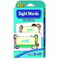 School Zone Beginning Sight Words Flash Cards 55 ea [076645040022]