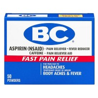 BC Aspirin Fast Pain Relief Powder 50 ea [042037103736]