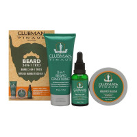 Clubman Beard 3-in-1 Trio Kit, 1 ea [070066279535]