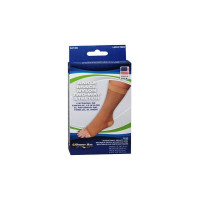 Sport Aid Nylon Ankle Brace Slip-On Two-Way Stretch, Beige, Small, 1 ea [763189242264]