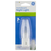 GE Incandescent Night Light  1 ea [043180510235]