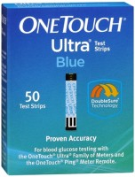 OneTouch Ultra Test Strips Blue 50 Each [353885009720]