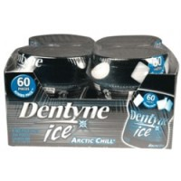 Dentyne Ice Bottles Arctic Chill 4 pack (60ct per pack)  [012546310512]