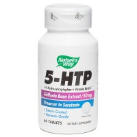 Nature's Way 5-HTP 50mg Tablets 60 ea [033674452509]