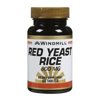 Windmill Red Yeast Rice 600 mg Tablets 120 Tablets [035046004569]