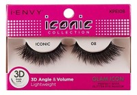 KISS  I Envy Iconic Collection Lashes [08] 3D Angle & Volume 1 ea [731509738124]