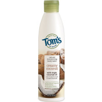 Tom's of Maine Natural Moisturizing Body Wash Soap With Virgin Oil, Coconut 12 oz [077326450840]
