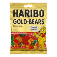 Haribo, Gold-Bears Gummi Candy 5 oz [042238302211]