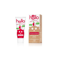Hello Organic Apple Toddler Training Toothpaste, 1.5 oz  [854296004897]