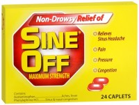 Sine-Off Caplets Maximum Strength 24 Caplets [395814269669]