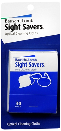 Bausch & Lomb Sight Savers Optical Cleaning Cloths 48 Each [010119430209]