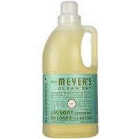 Mrs. Meyers Clean Day Concentrated Laundry Detergent, Basil Scent 64 oz [808124148314]