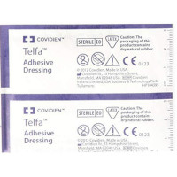 Covidien Adhesive Dressing Telfa 2 X 3 Inch 100% Cotton Rectangle Clear Sterile 1 ea [694393009254]
