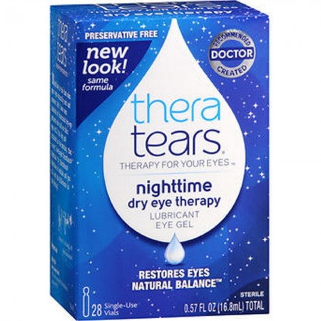 TheraTears Night Time Dry Eye Therapy 28 Each [358790002286]