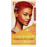 Revlon Colorsilk Moisture Rich Hair Color, Bright Auburn [74] 1 ea [309970999452]