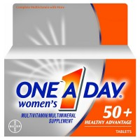 One-A-Day Women's 50+ Advantage Healthy  Multivitamins Tablets 65 ea [016500565291]