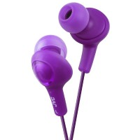 JVC Gumy Plus In-Ear Headphones, Violet 1 ea [046838046827]