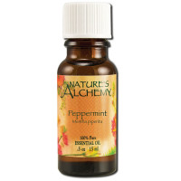 Nature's Alchemy Essential Oils, Peppermint 0.5 oz [079565003252]