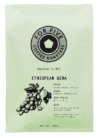 For Five Coffee Roasters Ethiopian Gera Whole Bean 12 oz [853473008079]