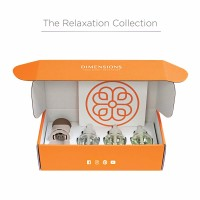 Dimensions Relaxation Collection - 3 Pre-blended Fragrance Refills and Fragrance Plugin for up to 4 Months of Brilliant Fragrance