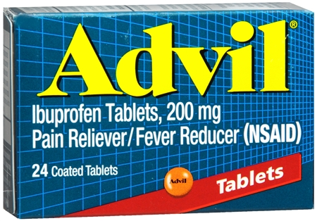 Advil 200 mg Coated Tablets 24 Tablets [305730150200]