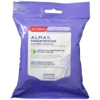 Almay Makeup Remover Cleansing Towelettes, Oil-Free 25 ea [309975924404]