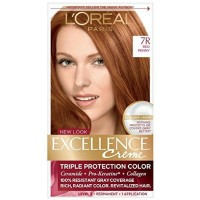 L'Oreal Paris Excellence Creme Triple Protection Color 7R Red Penny 1ea [071249210673]