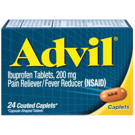 Advil 200 mg Coated Tablets 24 ea [305730160209]