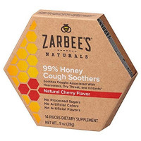 ZarBee's Naturals  99% Honey Cough Soothers, Cherry 0.9 oz [858438005360]