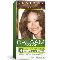 Balsam Hair Color, #43 Medium Golden Brown 1 kit [381519032455]